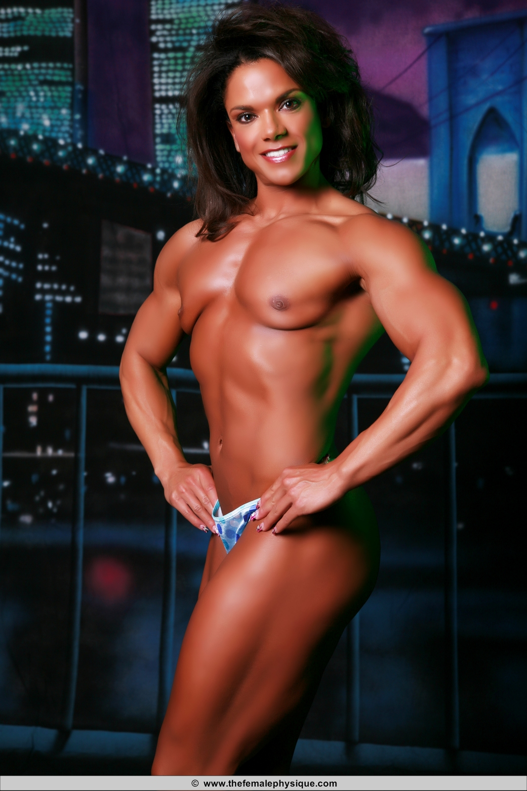 Bodybuilder woman hentai porn photo